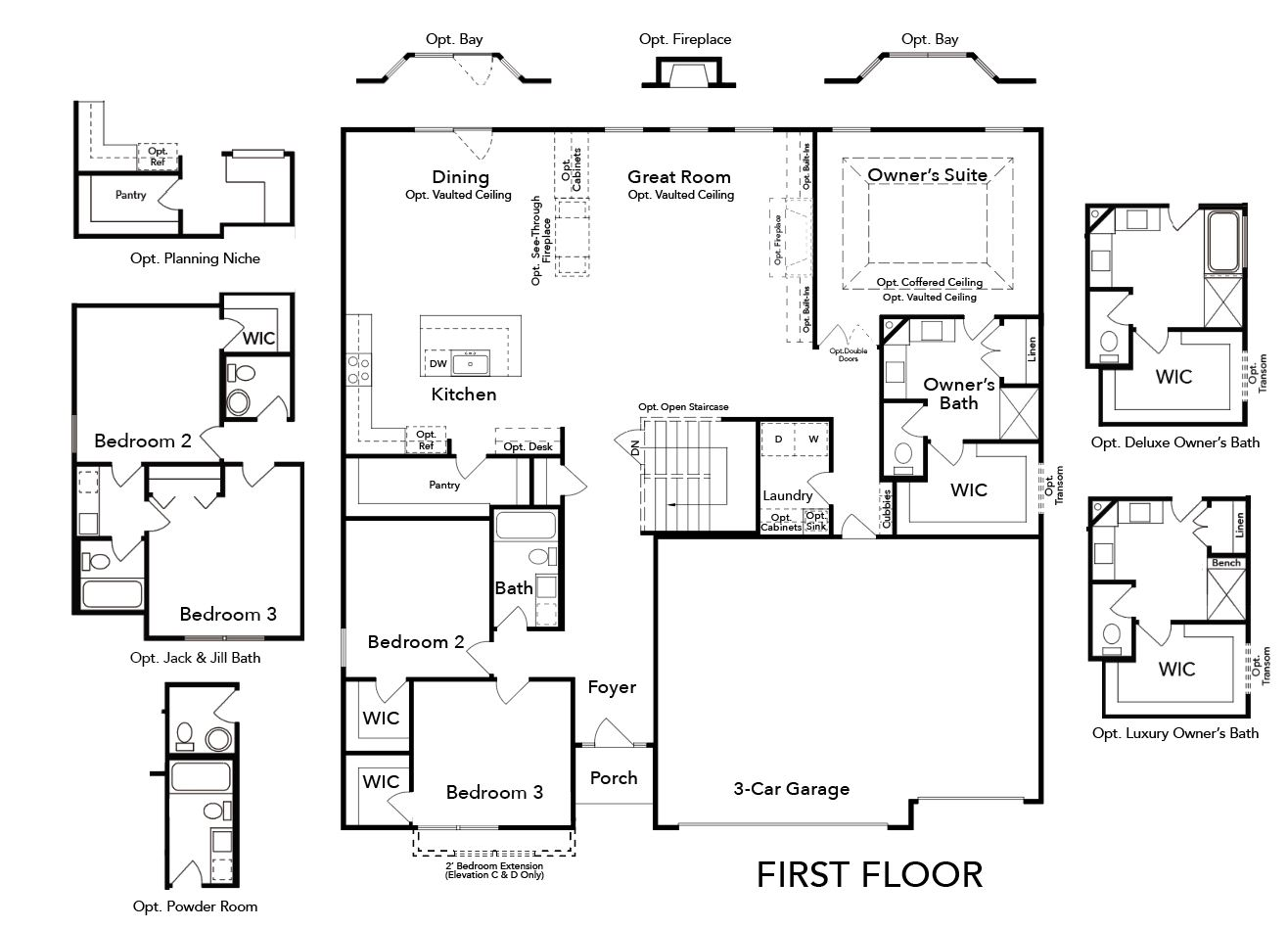Canterbury First Floor