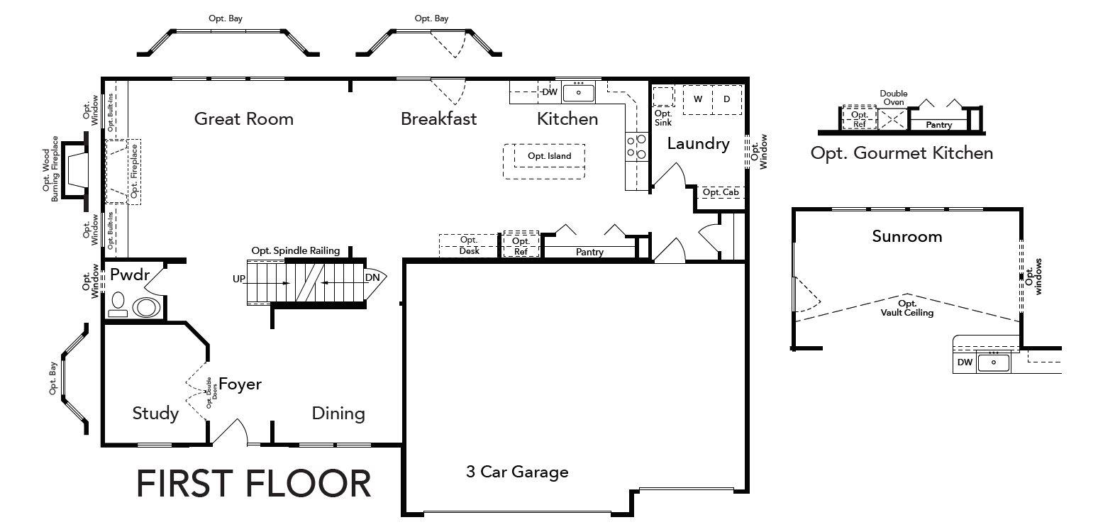 Princeton First Floor