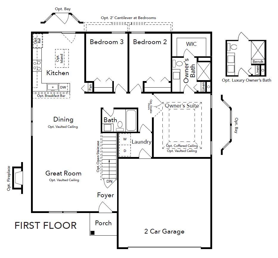 Tremont First Floor