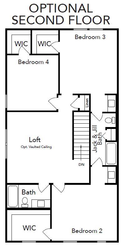 Savannah Optional Second Floor