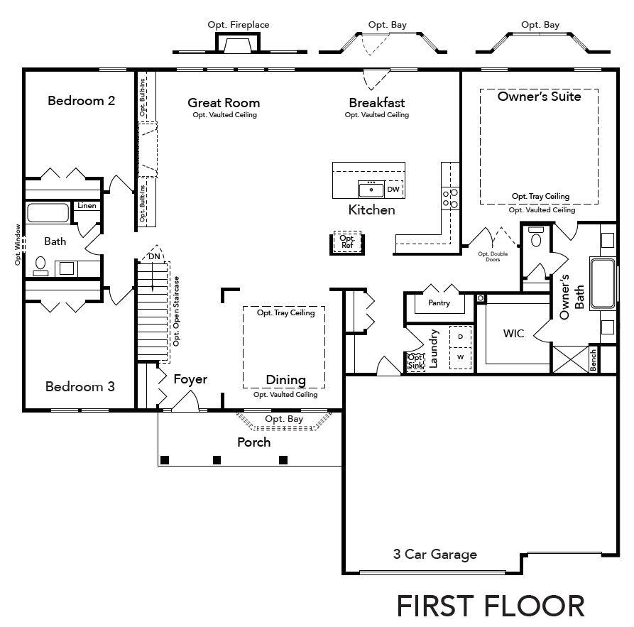 Waverly First Floor