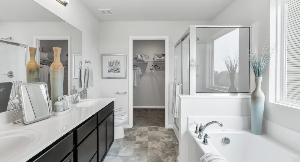 Ranch Plan Master Bathroom