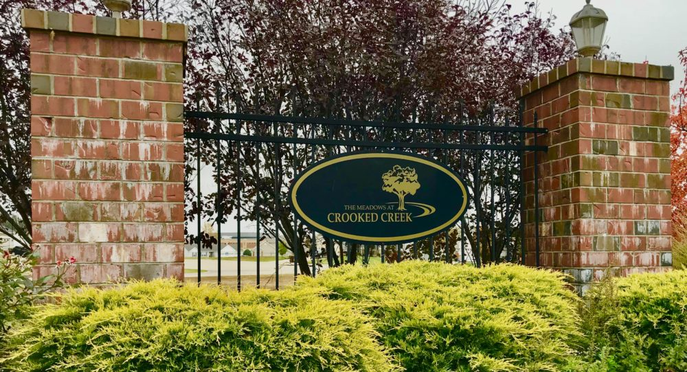 New Homes: Troy Monument Sign