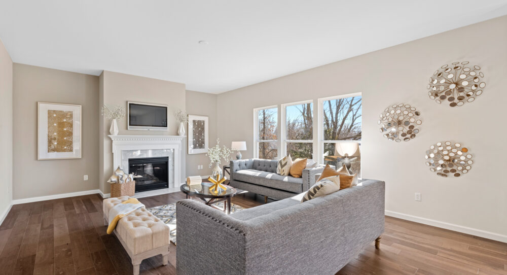 Open floor plan concept from Rolwes Co.